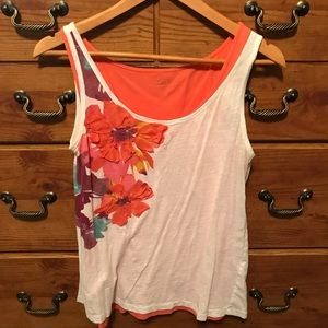 Floral tank set from the Loft